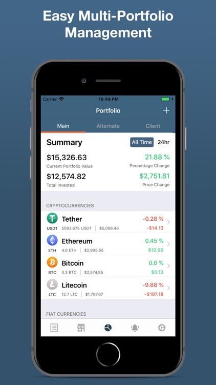 Cryptare: Crypto Portfolio screenshot-0