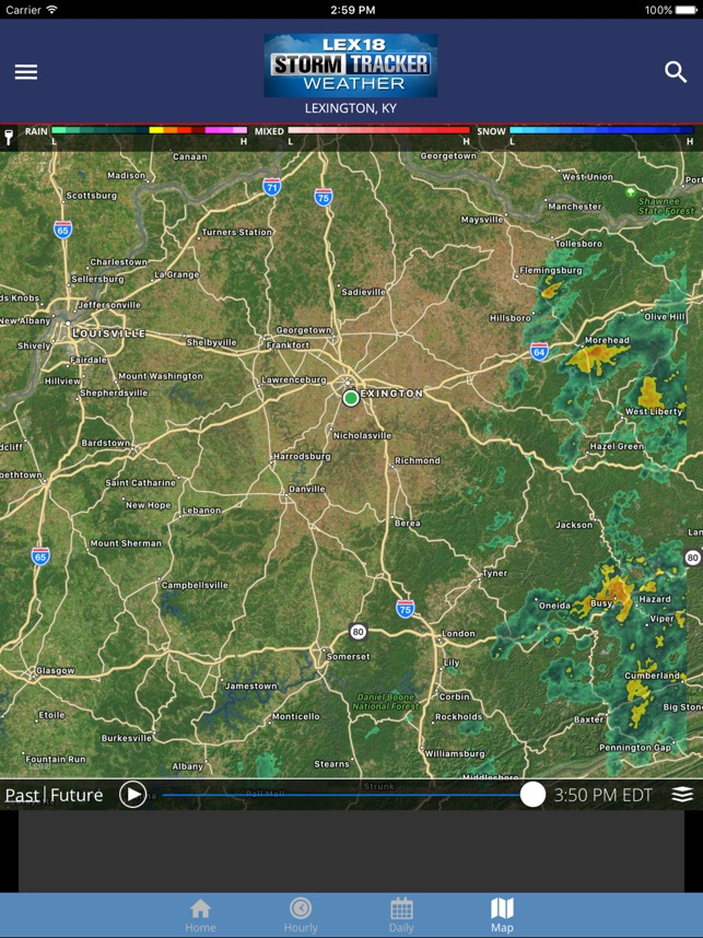 Storm Tracker Weather on the App