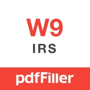 W-9 Form - PDF Template