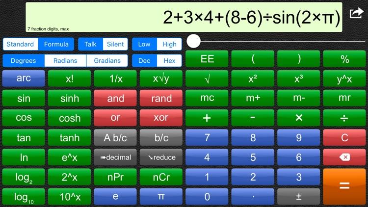 Talking Scientific Calculator