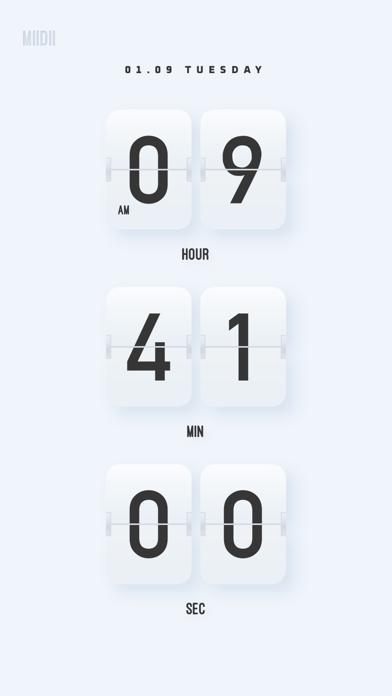 Baixar MD Clock - Viva no presente para Android