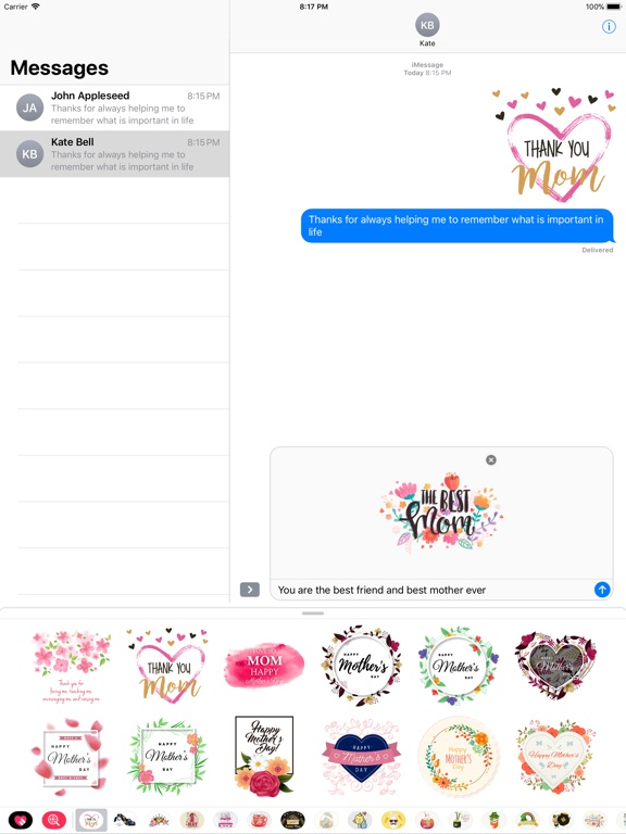 All about Mother's Day Sticker screenshot 7