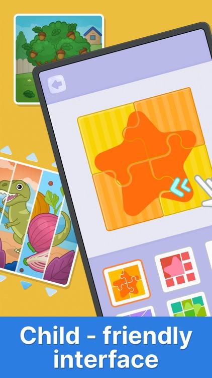 Bimi Boo puzzle games for kids screenshot-5