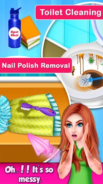 MagicWomen House Cleaning Game screenshot-4