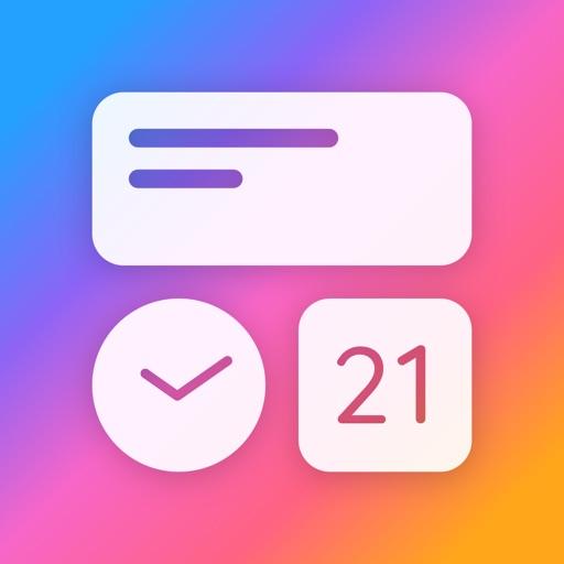 Widget+ Custom HomeScreen