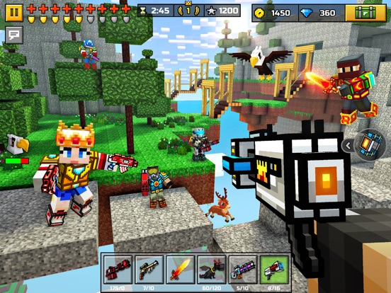 Pixel Gun 3D: Battle Royale для iPad