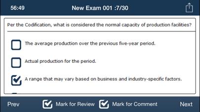 CPA FAR Exam Online Lite screenshot three