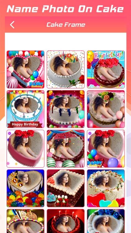 Name Photo On Cake screenshot-3