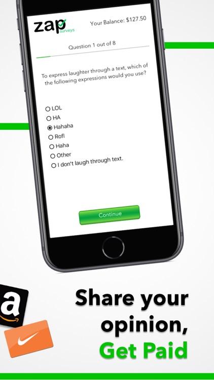 Zap Surveys screenshot-3