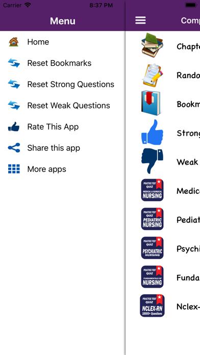 Nursing Quiz 10000+ QuestionsScreenshot of 1