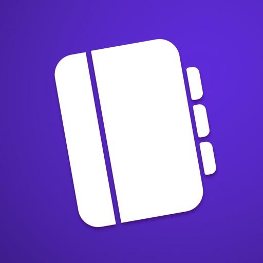 Outline – take notes, organize, print PDF, publish