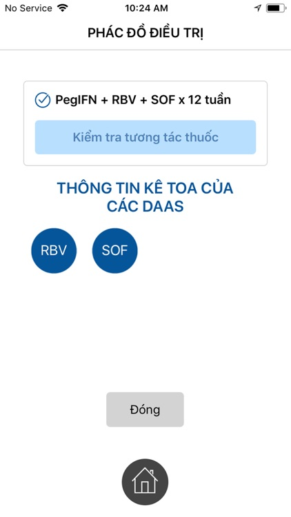 HepiCARE: Chẩn đoán VGSV C HCV screenshot-7