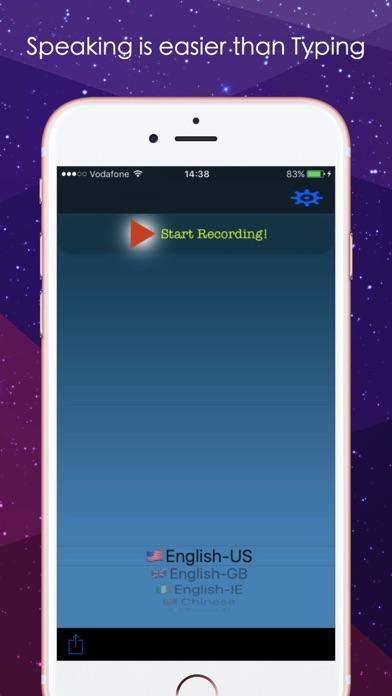 Speech to Text : Voice to Text Screenshot