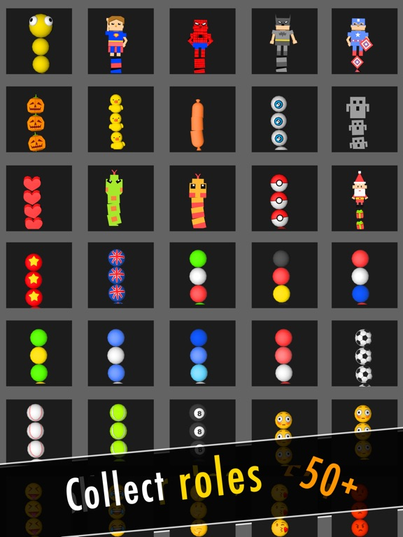 Balls Snake-Hit Up Number Cube-ipad-4