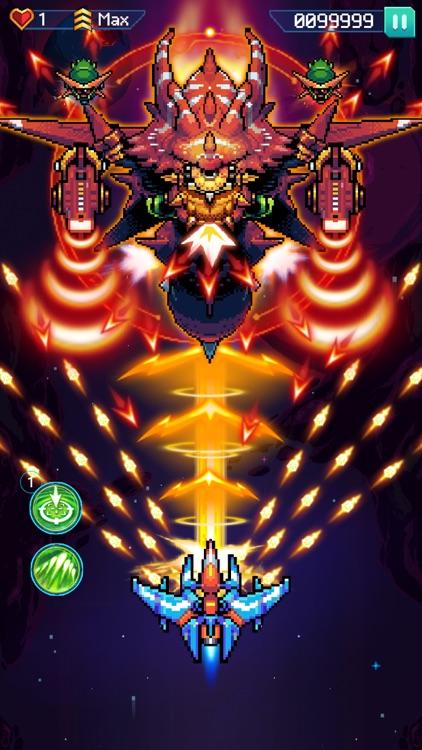 Galaxiga - Classic 80s Arcade screenshot-3