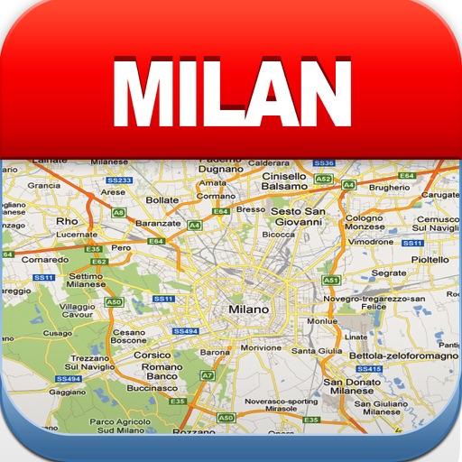 Milan Offline Map, Metro