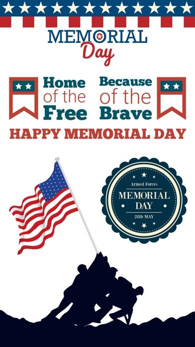 Memorial Day-Remember & Honor screenshot 1