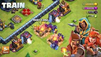 Screenshot of Clash of Clans App