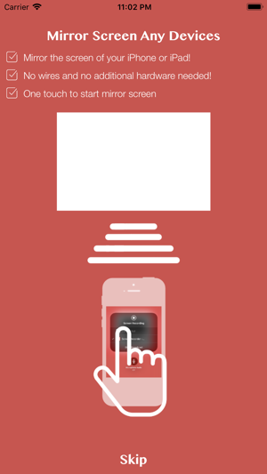 Mirror Screen & TV Recorder Screenshot