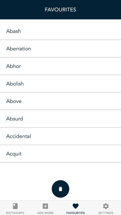 Synonyms Antonyms Dictionary screenshot-4
