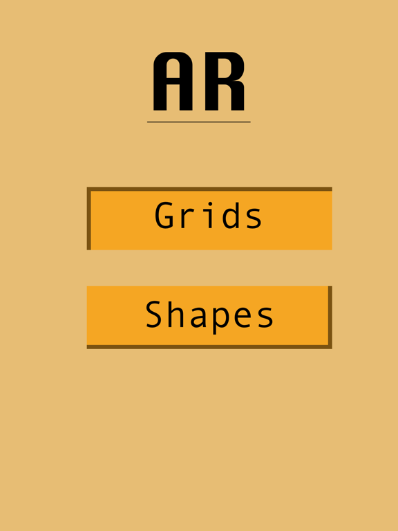 Grids and Shapes Ar Screenshots