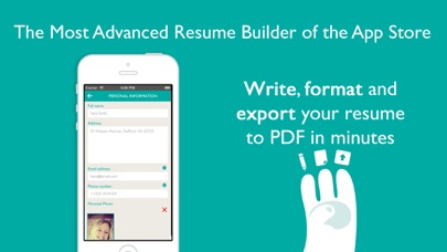 Resume Designer Pro Screenshots