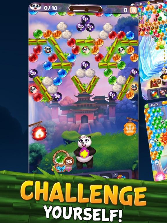 Bubble Shooter - Panda Pop! iPad app afbeelding 4