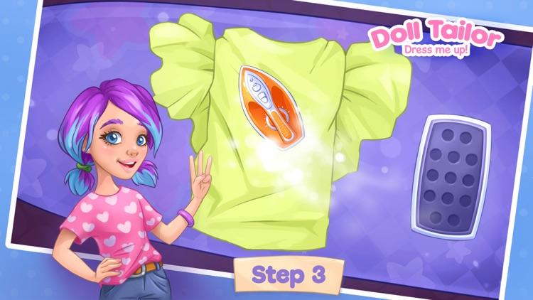 Sewing games girls dress up 7 screenshot-3