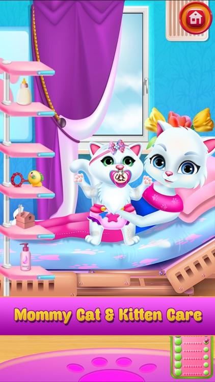 New Baby Pet Kitten Cat Games screenshot-4