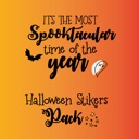 Halloween Night Party Stickers
