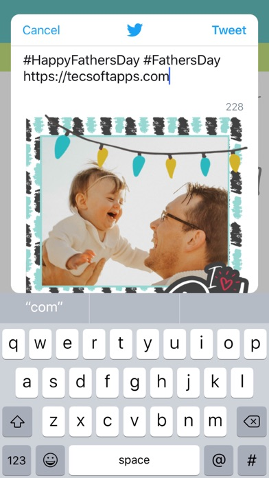 Father's Day Photo Greetings screenshot #6