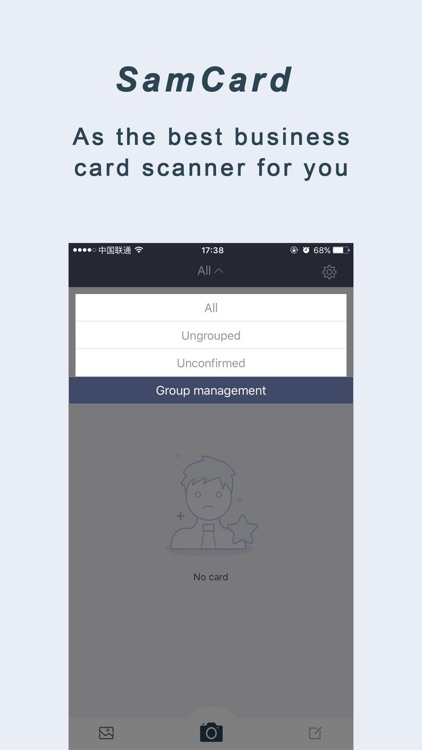 SamCard Pro 名刺認識 Card Scanner