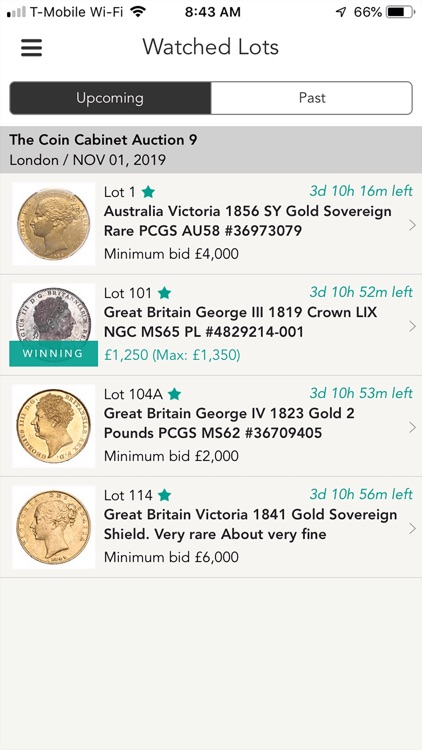 The Coin Cabinet Auctions screenshot-5