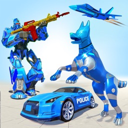 US Police Dog Robot Games