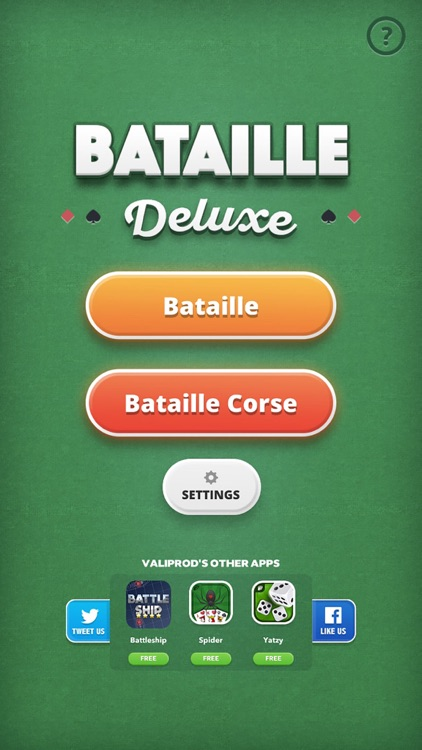 Corsican Battle - card game