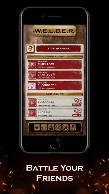 W.E.L.D.E.R. - word game screenshot-4