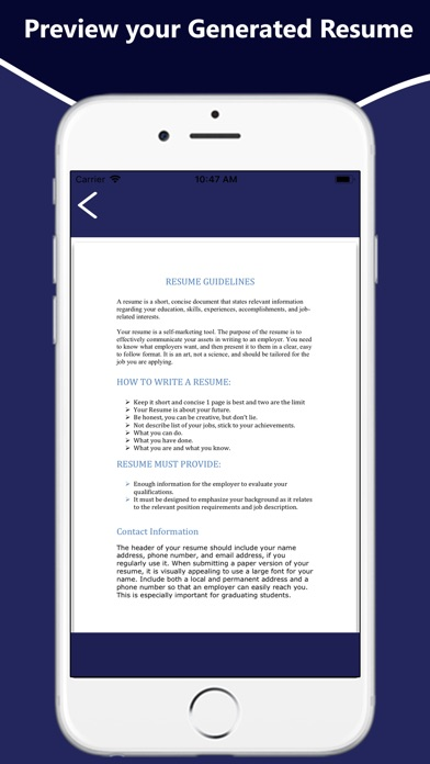 Resume And Cv Maker App Price Drops