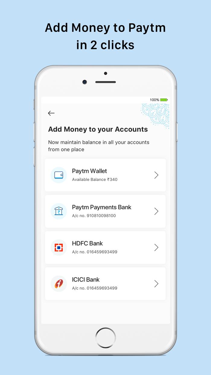 Paytm- Payments & Bank Account Screenshot