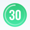 App Icon for 30 Day Fitness - Home Workout App in Azerbaijan App Store