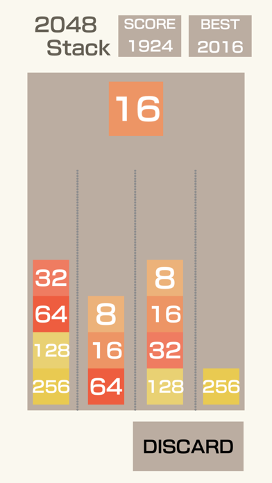 2048-Stack screenshot 3