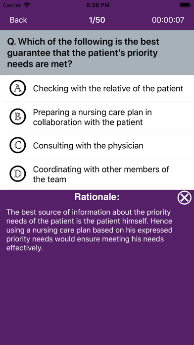 Nursing Quiz 10000+ QuestionsScreenshot of 10