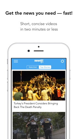 Newsy Video News On The App Store