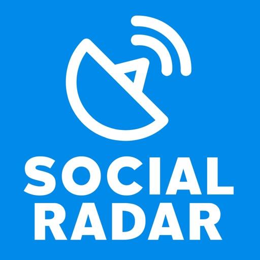 Social Account Radar iOS App