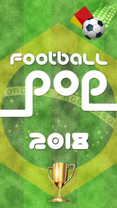 Football Pop - World Game 2018 screenshot one