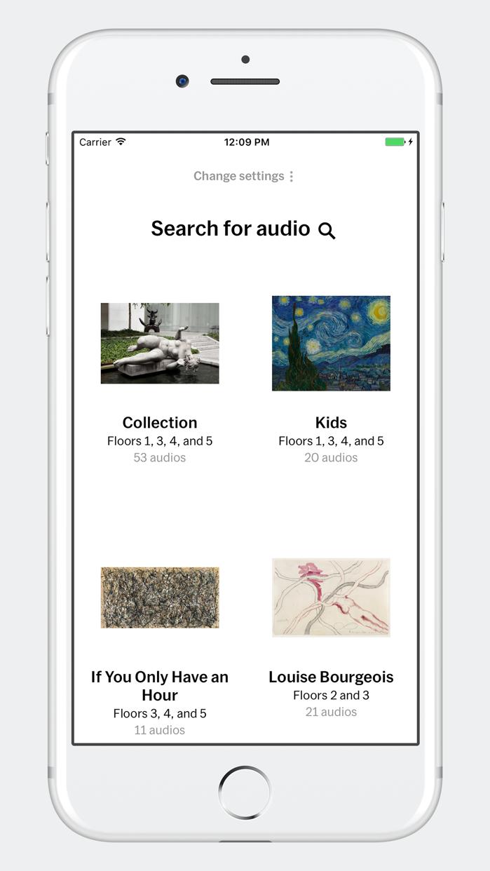 MoMA Audio Screenshot