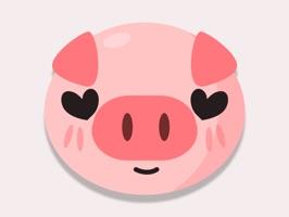 Adorable Piggy Pig Stickers