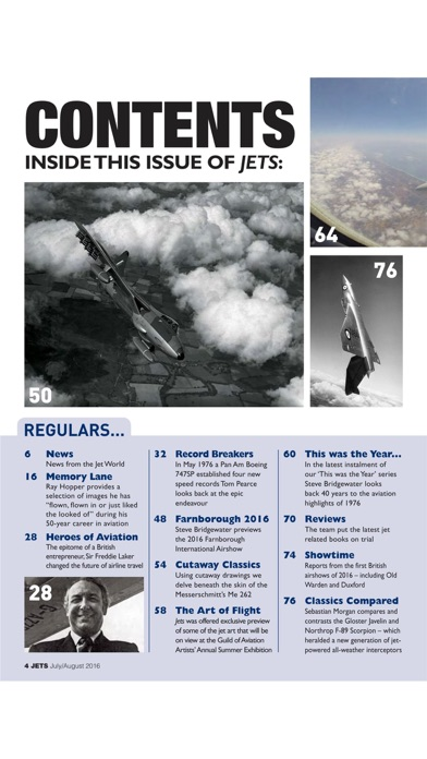 JETS Magazine - Aviation heritage news on classic airliner, military aircraft, aeroplane & jets-1