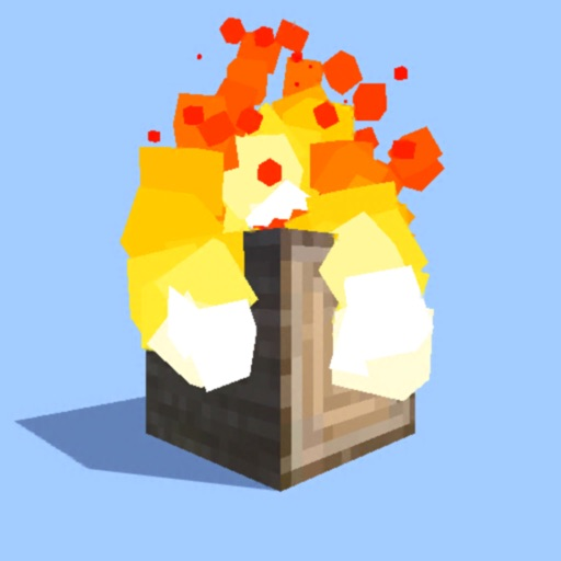 Burn it Down! 3D Pixel Game