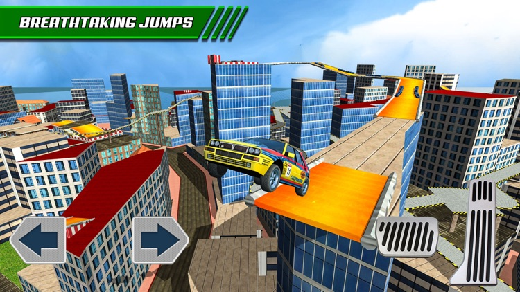 Roof Jumping: Stunt Driver Sim screenshot-1