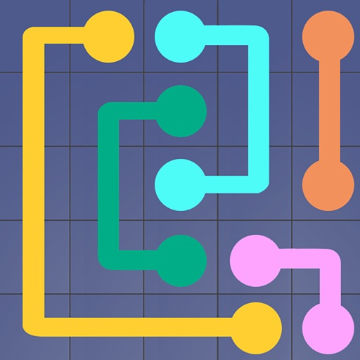 Line Puzzle Game-Color Connect